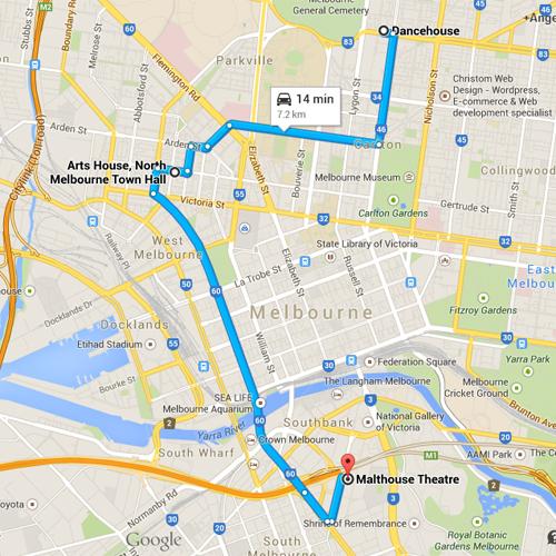 DM15 - Melbourne Map 500x500